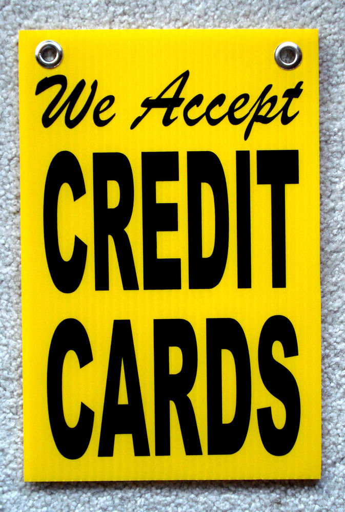 It is a photo of Persnickety We Accept Credit Card Signs Printable
