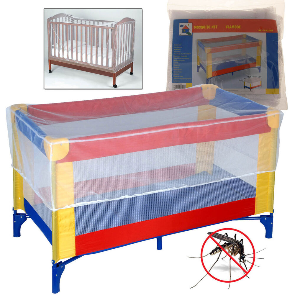 Universal mosquito cot safety net baby kids protector crib for Baby crib net
