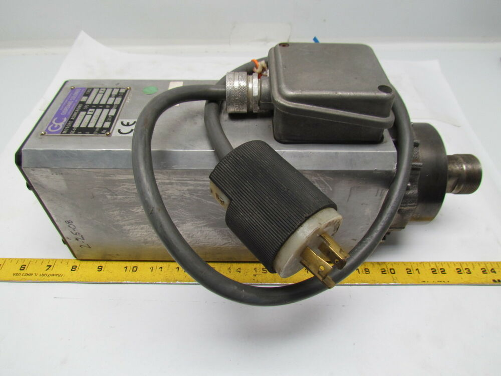 Pds colombo rv high speed collet spindle motor cnc for High speed spindle motors