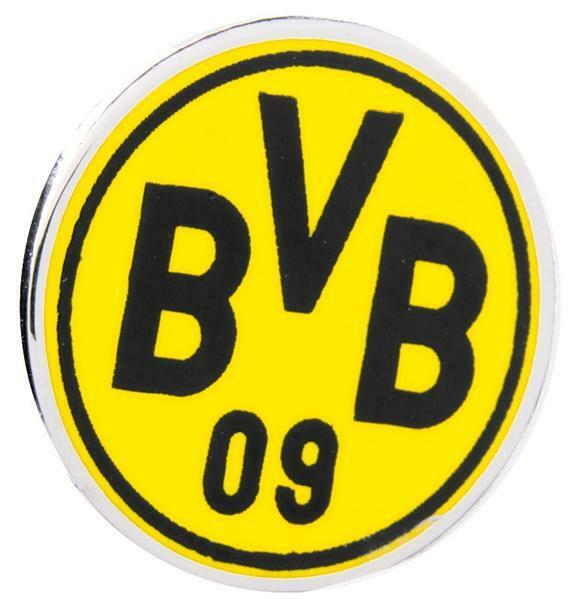 bvb pin emblem anstecker borussia dortmund bvb neu ebay. Black Bedroom Furniture Sets. Home Design Ideas