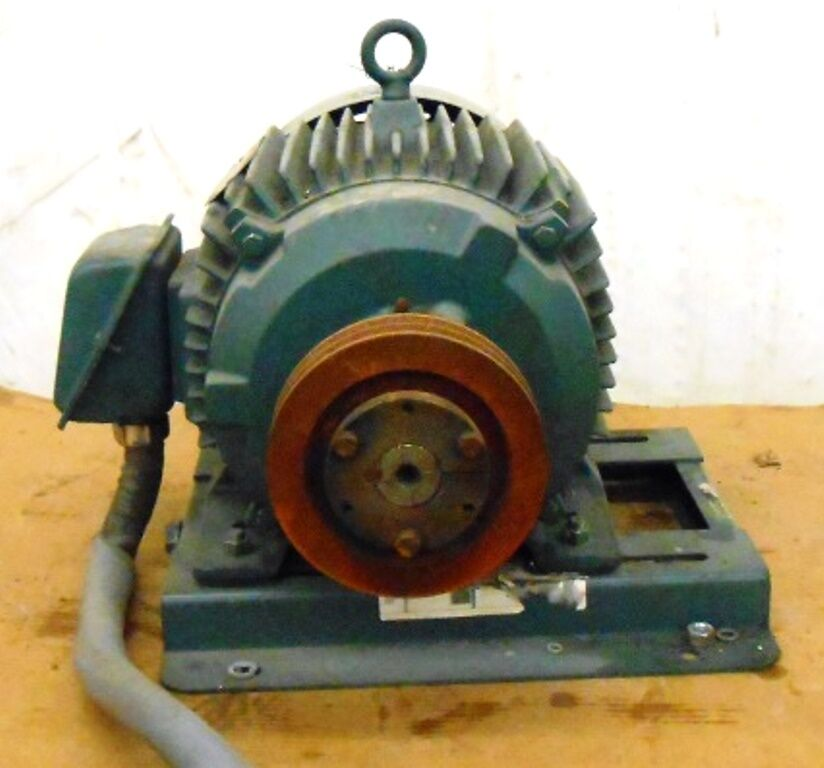 Reliance electric xe duty master motor 5419806 lb 20 hp for Master electric gear motor