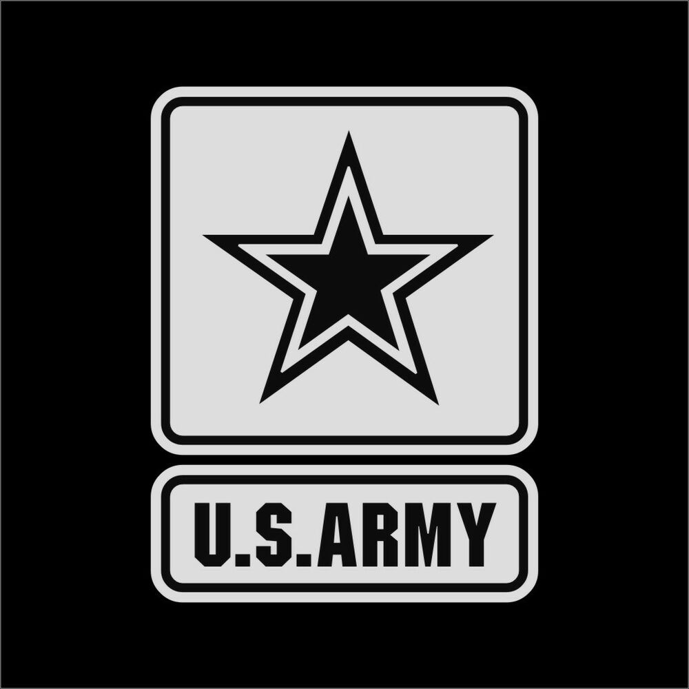 us army military vinyl decal sticker window wall car sign. Black Bedroom Furniture Sets. Home Design Ideas