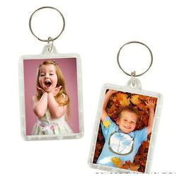 Kyпить 6 PHOTO FRAME KEYCHAINS KEY CHAIN CLEAR TRANSPARENT INSERT PICTURES-FAST SHIP! на еВаy.соm
