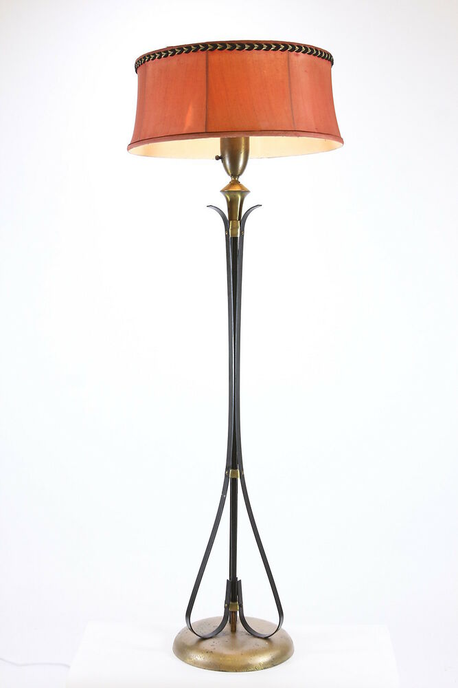 Mid Century Modern Mogul Floor Lamp With Diffuser ...
