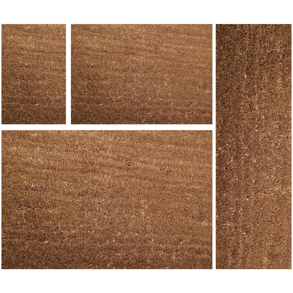 Natural Coir Matting Doormat Coconut Mat Plain Entrance