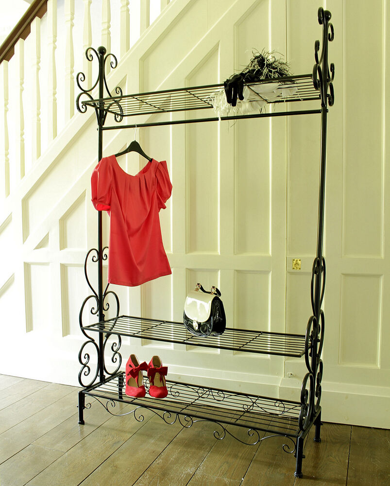 vintage style clothes rail uk neuesten. Black Bedroom Furniture Sets. Home Design Ideas