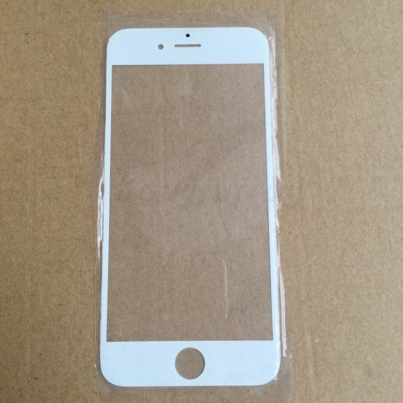 iphone 6 plus replacement glass white replacement front glass lens outer lcd screen cover 9820