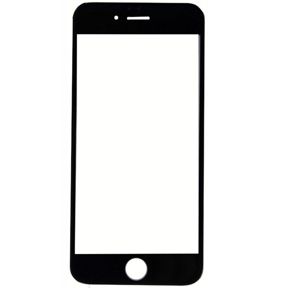 Black Replacement Front Glass Lens Outer LCD Screen Cover ...
