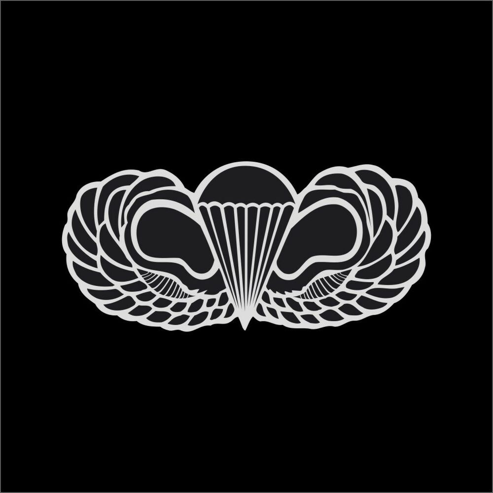 Us army airborne wings military vinyl decal sticker window for 101st airborne window decals