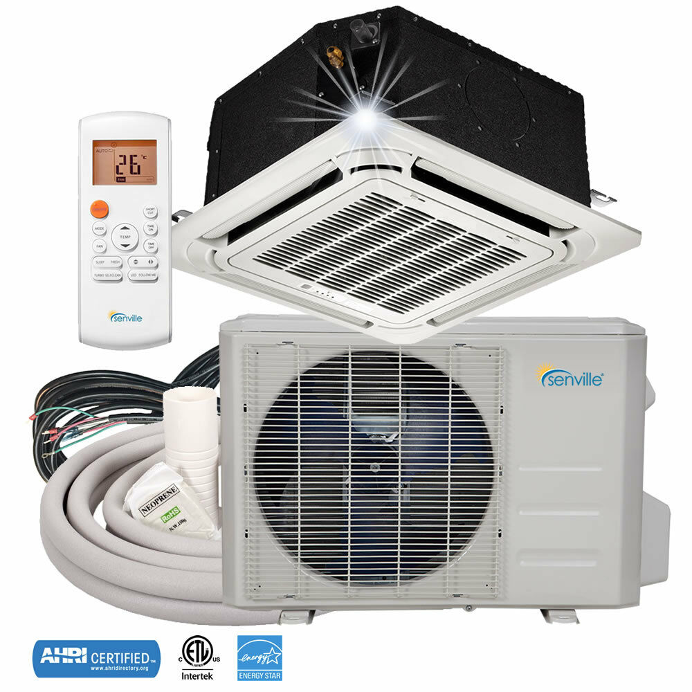 18000 Btu Ductless Mini Split Air Conditioner Ceiling