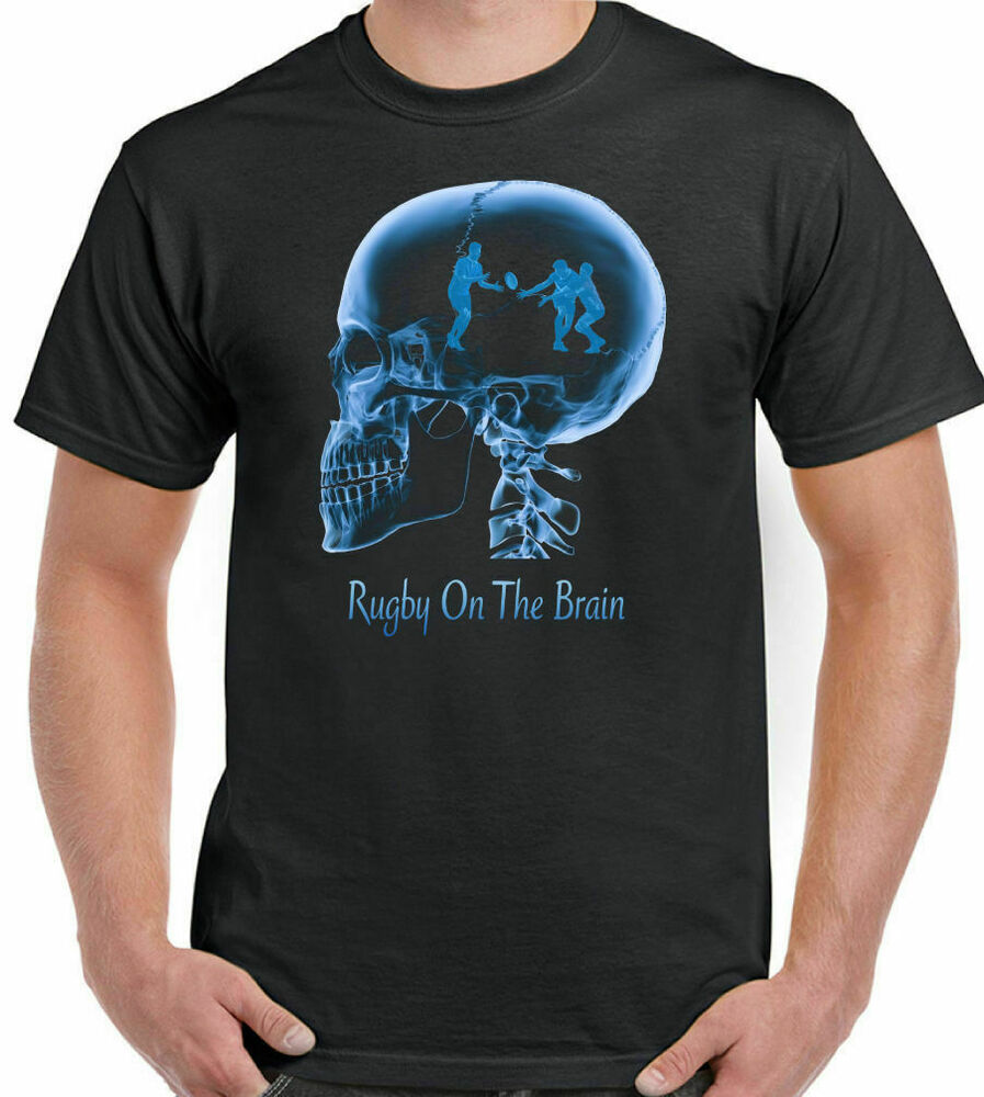 Rugby On The Brain Mens Funny T Shirt World Cup England