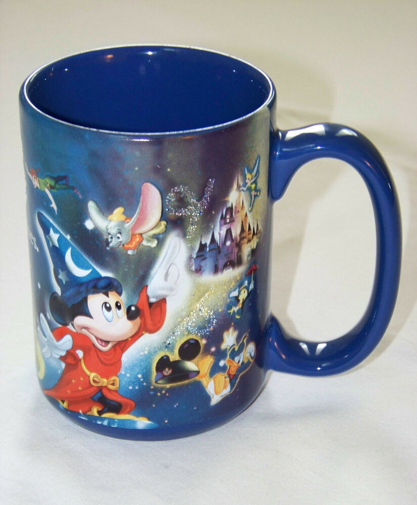 disney theme parks mug where magic lives walt disney. Black Bedroom Furniture Sets. Home Design Ideas