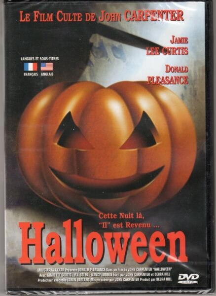 HALLOWEEN FILM CULTE DE JOHN CARPENTER AVEC JAMIE LEE CURTIS DONALD PLEASANCE