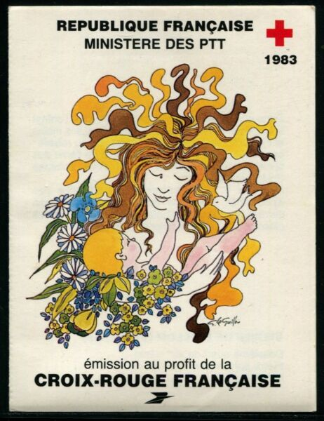 France 1983 Carnet Croix-Rouge N°2032 NEUF ** LUXE