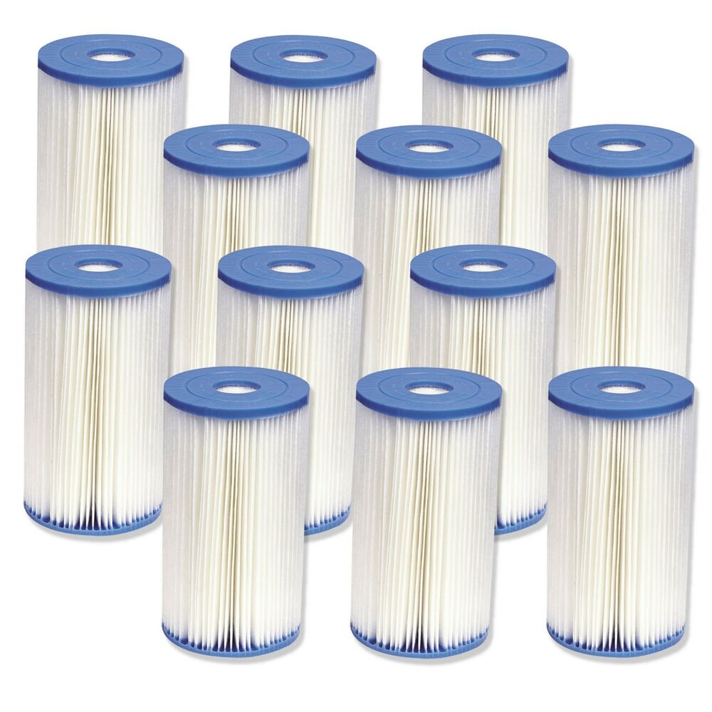 Intex Type B Filter Cartridge For Above Ground Swimming Pool Pumps 12 Pack Ebay