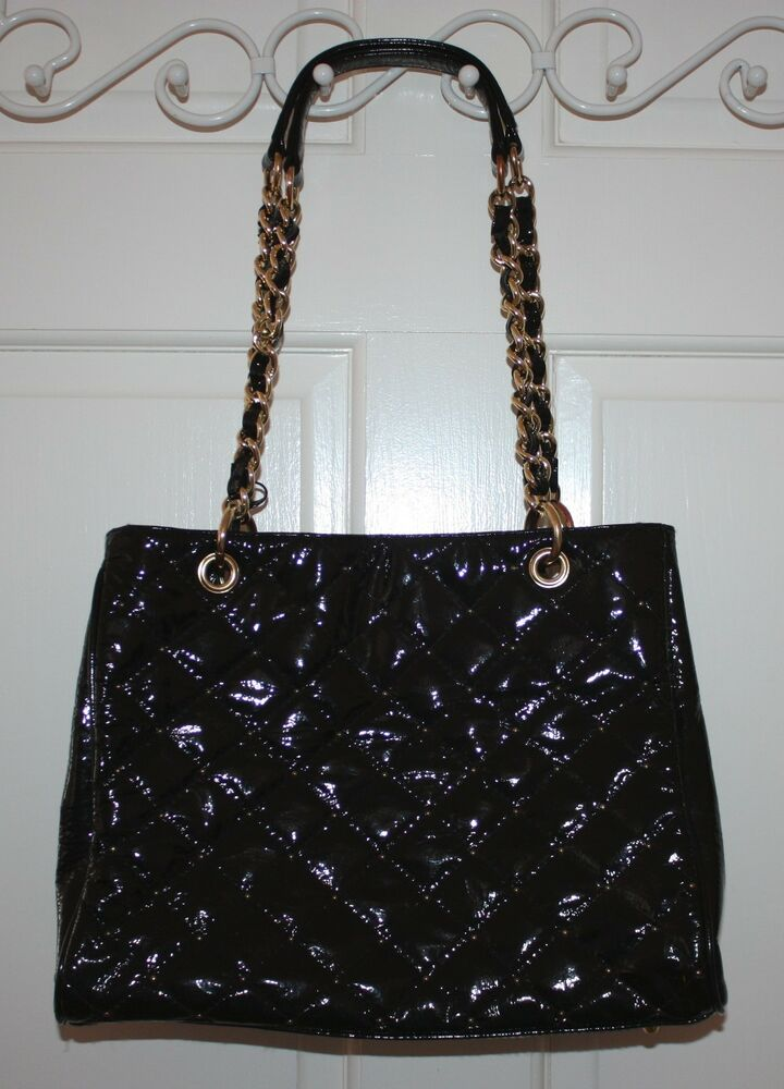 Rare Paradox Leather Classic Black Quilted Purse Handbag