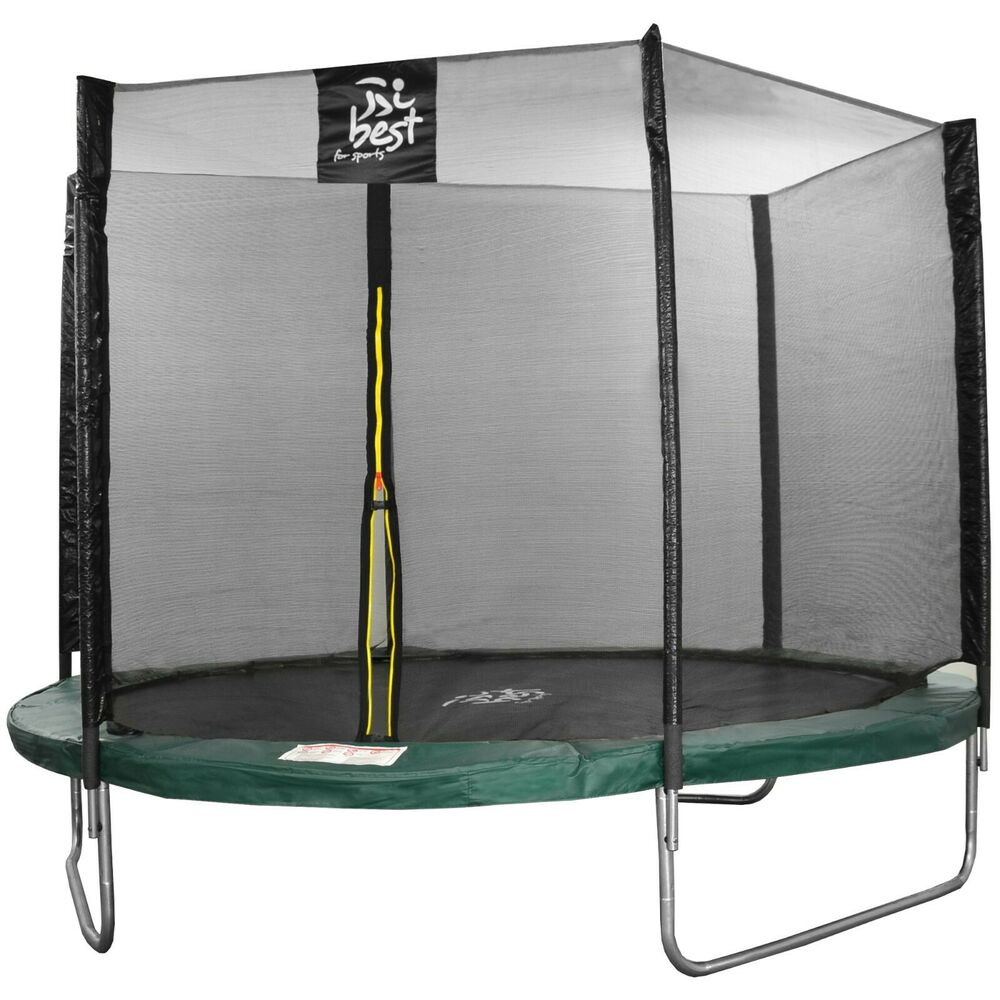 best for sports trampolin 305 cm komplettset mit sicherheitsnetz leiter bis180kg ebay. Black Bedroom Furniture Sets. Home Design Ideas