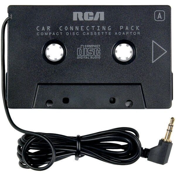 rca ah600n cassette tape adapter for cd xm ipod mp3 audio to car stereo deck ebay. Black Bedroom Furniture Sets. Home Design Ideas