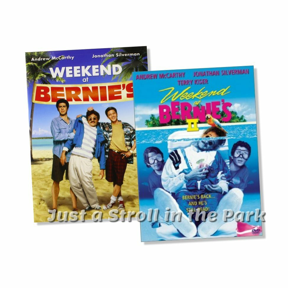 weekend at bernie 39 s 1 bernies 2 ii complete movie series box dvd set s new ebay. Black Bedroom Furniture Sets. Home Design Ideas