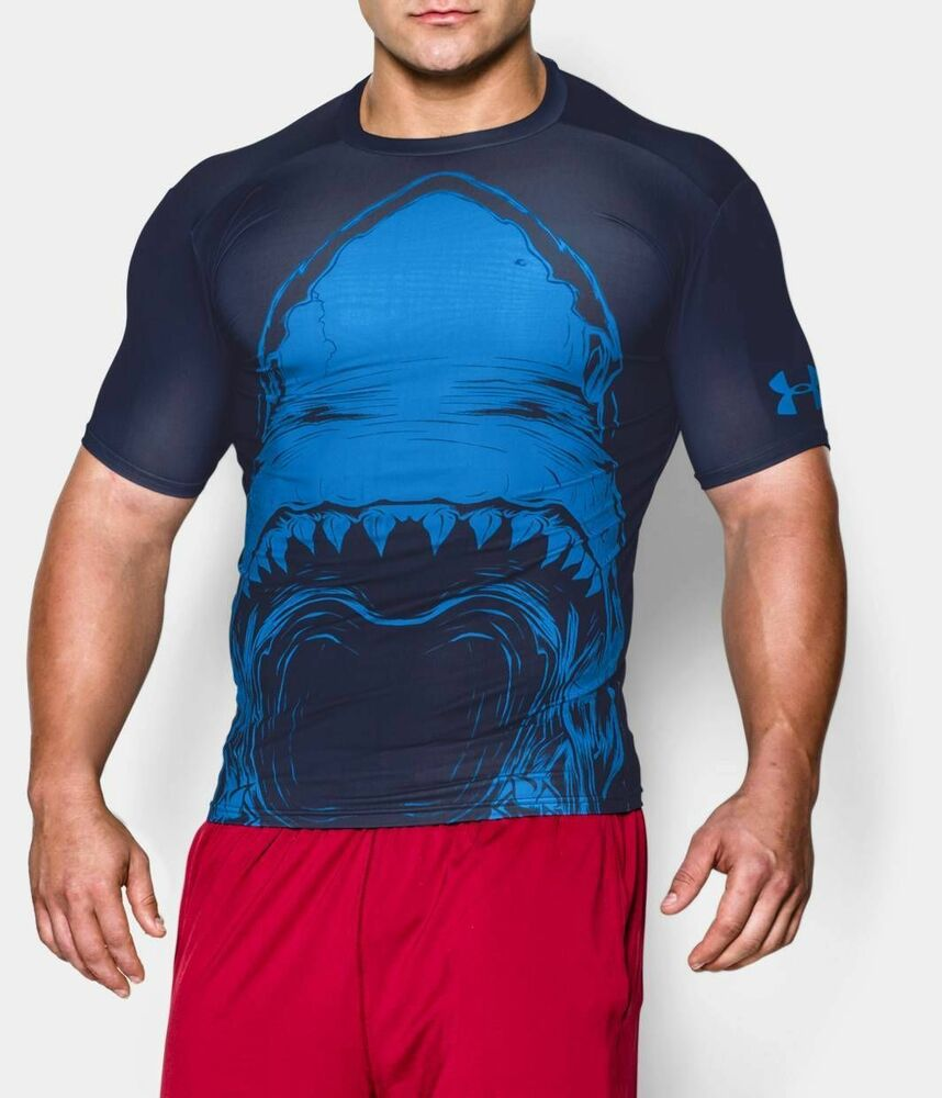 New under armour men 39 s alter ego shark beast mode for Beast mode shirt under armour