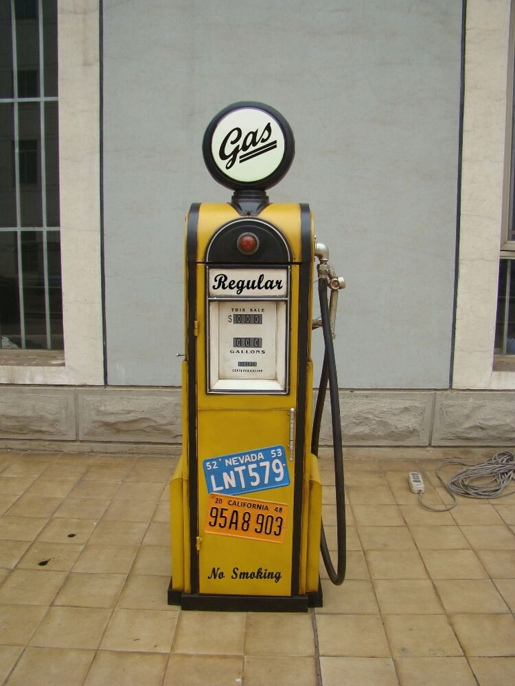 Tanks ule zapfs ule gasoline h he155cm dekoration mit for Dekoration in petrol