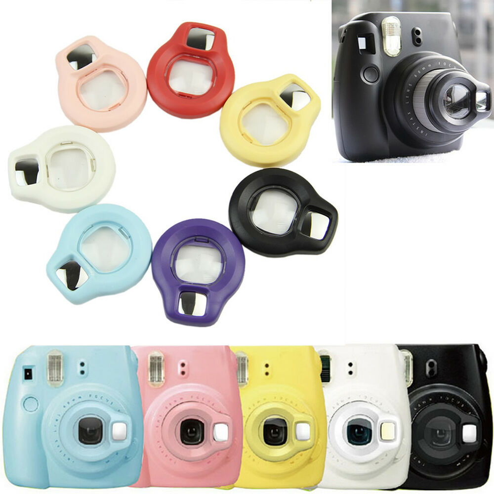 close up lens rotary self shot mirror for fujifilm instax mini 7s 8 film camera ebay. Black Bedroom Furniture Sets. Home Design Ideas