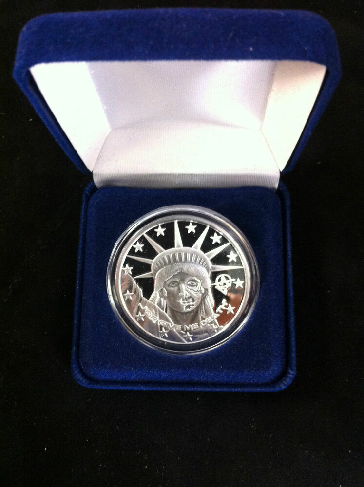 1 Troy Ounce 999 Fine Silver Proof Quot Liberty Quot Apocalypse