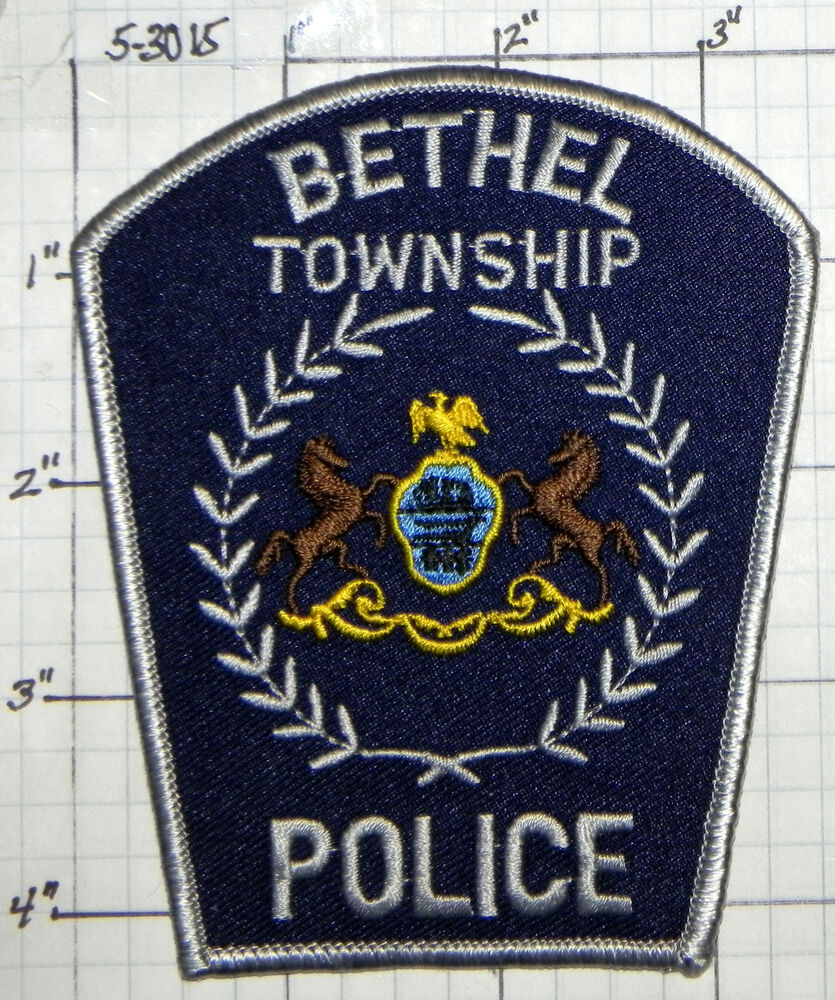 Rapho township police department patch