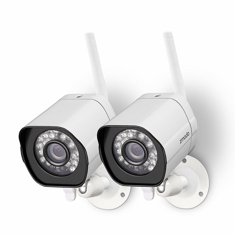 Home Security Cameras Outdoor: Funlux 2 1280*720p HD IP Network Wireless Outdoor Home