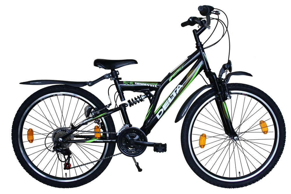 26 zoll mountainbike 18 gang shimano stvzo mit beleuchtung. Black Bedroom Furniture Sets. Home Design Ideas