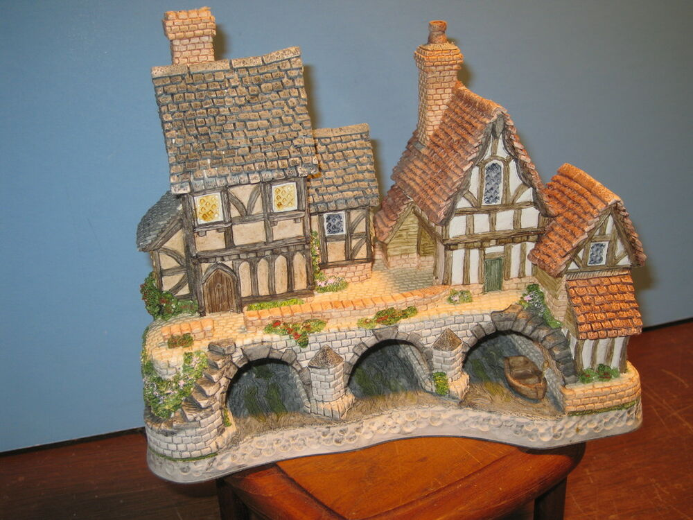 David Winter Cottages Arches Thrice Signed Mib Coa Ebay
