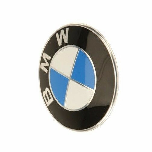 genuine front hood badge emblem sign logo roundel for bmw 6 7 series x1 x3 x5 x6 ebay. Black Bedroom Furniture Sets. Home Design Ideas