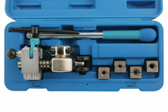 Laser Tools New Brake Pipe Flaring Tool With Clamp Blocks Use With Bench Vice Ebay