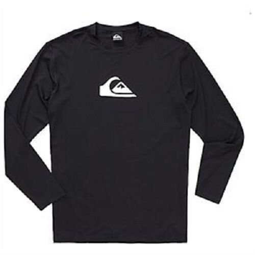 Quiksilver Mens Xs Long Sleeve Rash Guard Swim Uv Shirt