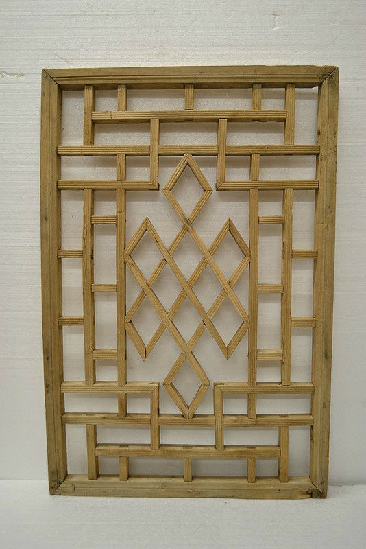 Chinese antique wood carving panel window shutter wall art for Antique wall decor