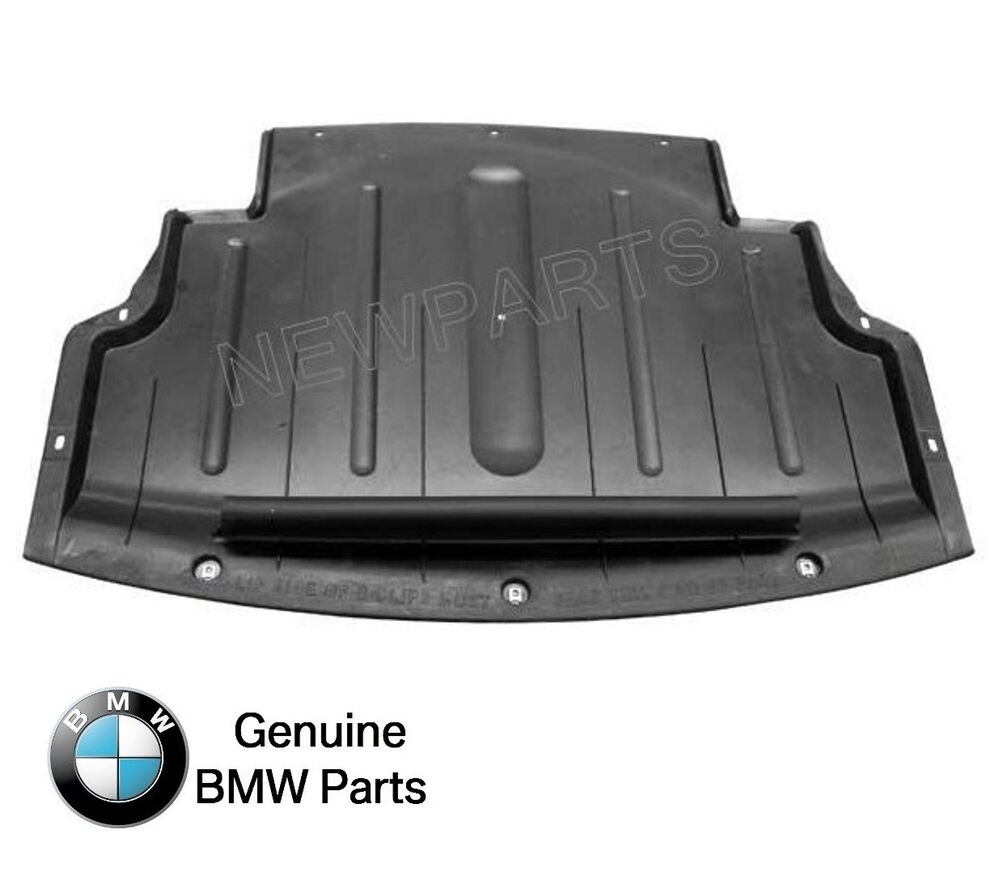 Bmw Z4 3 0 I Specs: GENUINE Under Engine Rear Panel Shield Oil Pan Lower Cover