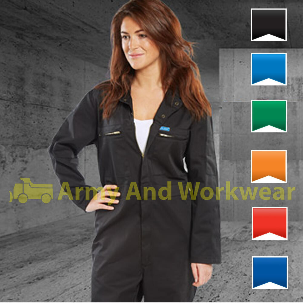 Ladies Zip Front Heavy Weight Super Boilersuit Coverall