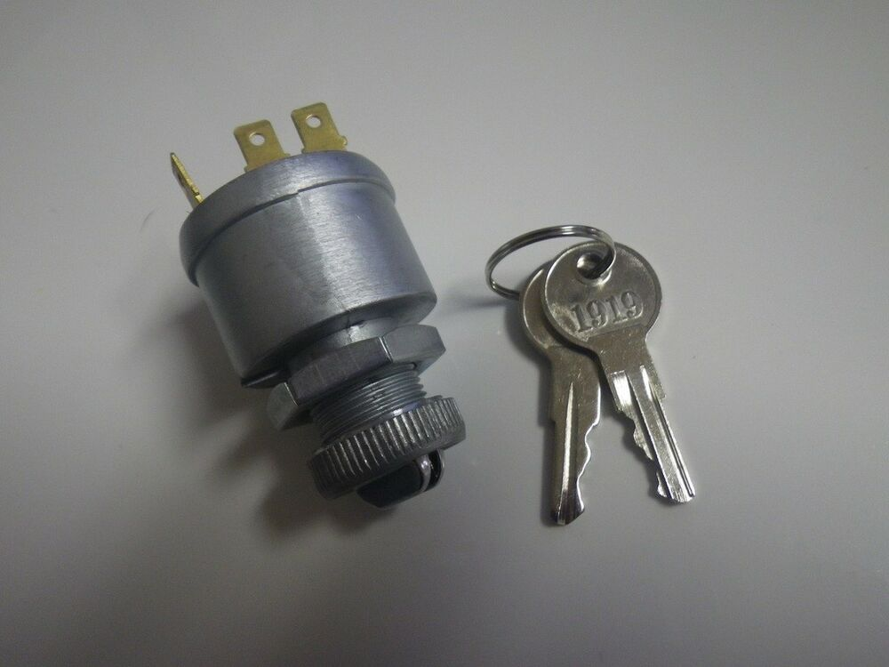 Ezgo Golf Cart 1981 Up 4 Terminal On Off Acc Ignition Key