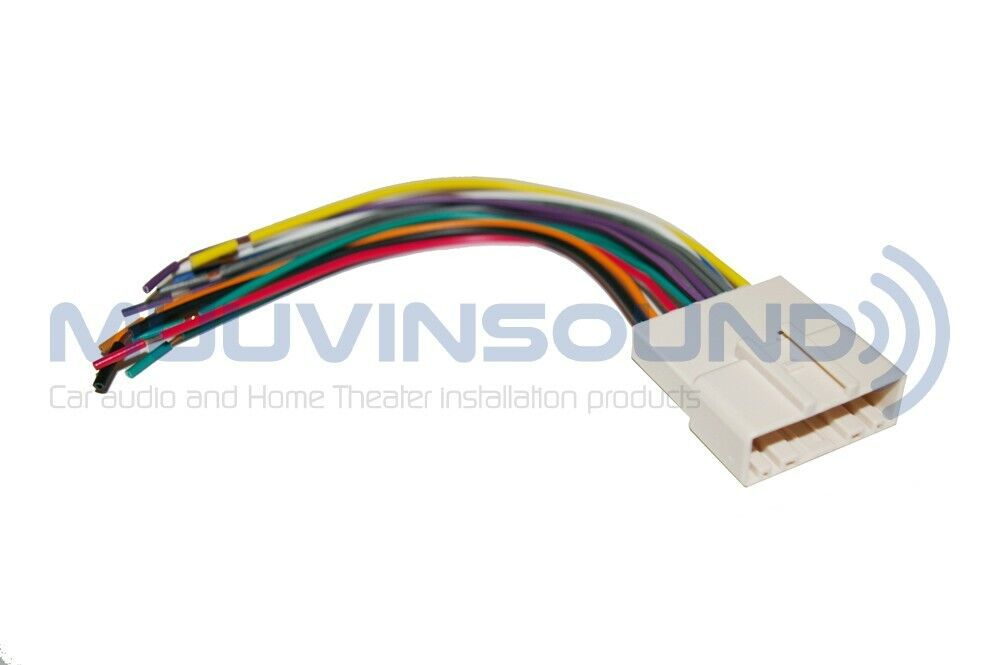 radio wire harness for aftermarket stereo installation raptor rap ni 7552 ebay