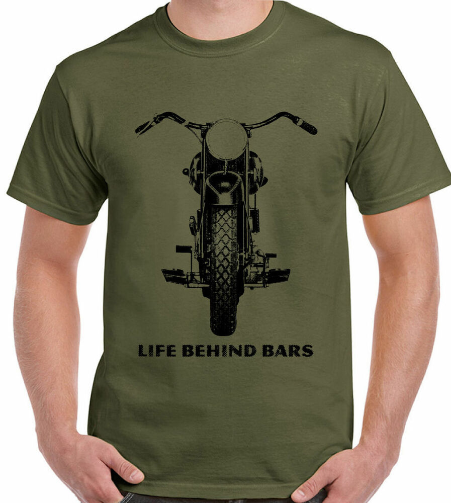Yamaha Motorcycle T Shirt Retro