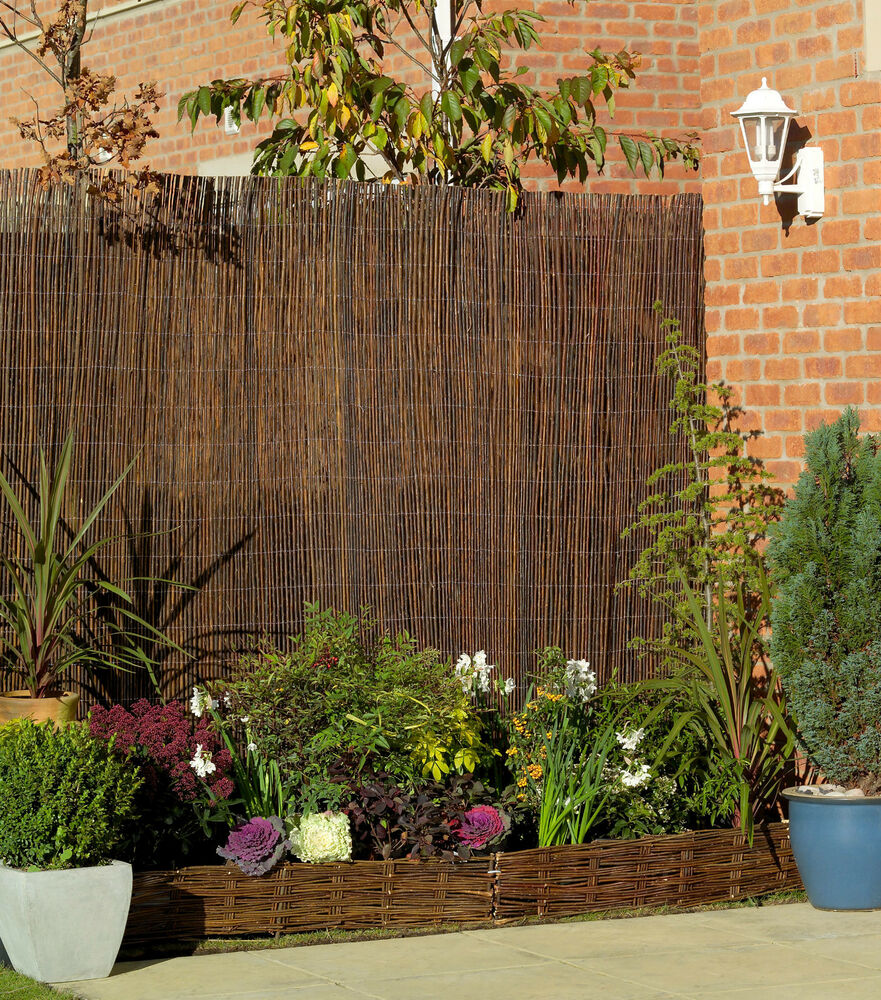 high willow screening garden screen fence panel