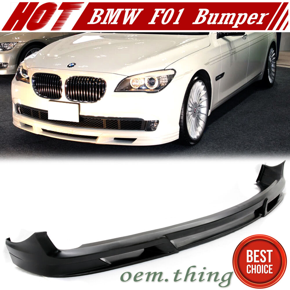 09 12 bmw 7 series f01 bumper front lip spoiler alpina. Black Bedroom Furniture Sets. Home Design Ideas