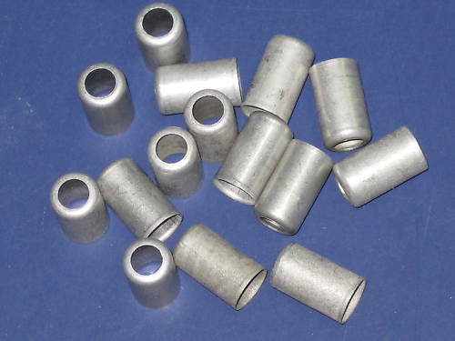 Crimp ferrule for quot od tube hose oil fuel line