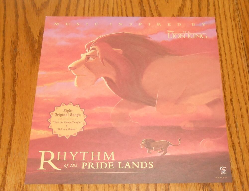 the lion king movie poster rhythm of the pride lands flat
