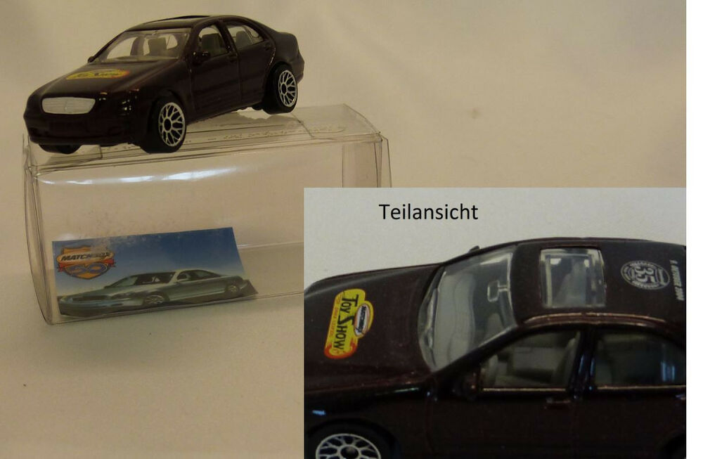 matchbox superfast german promo mercedes benz s500 toy show leipzig 2004 ebay. Black Bedroom Furniture Sets. Home Design Ideas