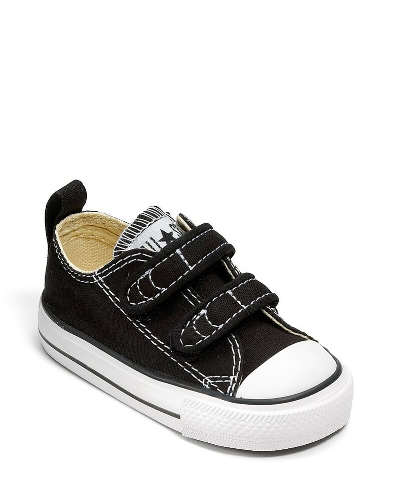 Girl Boy Toddler CONVERSE ALL STAR 7V603 Black Athletic