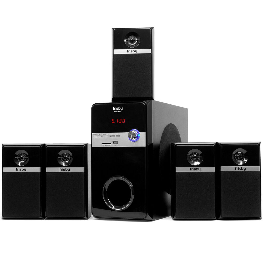 fs5080bt bluetooth pc laptop computer 800 watt surround sound 5 1 speaker system ebay. Black Bedroom Furniture Sets. Home Design Ideas