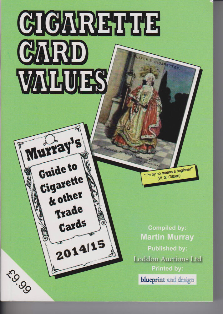 murray 39 s cigarette card values guide book catalogue 2014. Black Bedroom Furniture Sets. Home Design Ideas