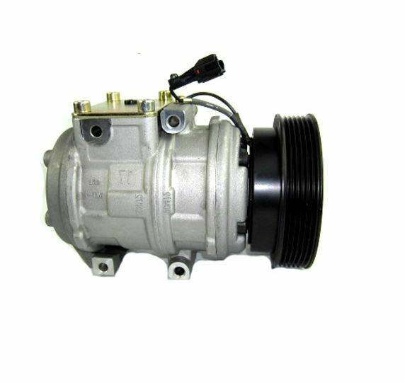 a c compressor with clutch denso new fits hyundai tucson. Black Bedroom Furniture Sets. Home Design Ideas