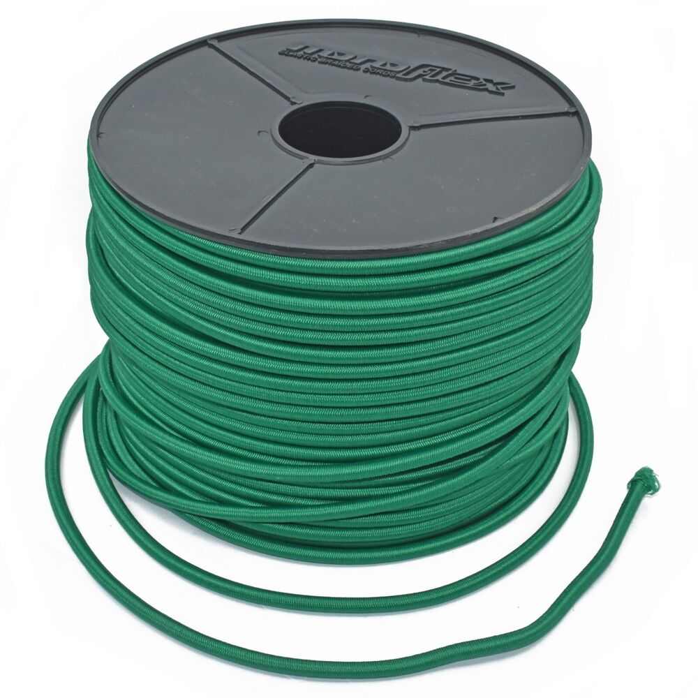 6 METRES OF GREEN REPLACEMENT TODDLERS TRAMPOLINE ELASTIC
